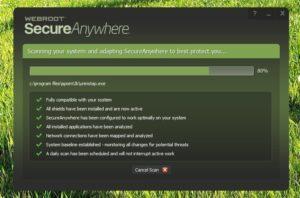 Webroot SecureAnyWhere Antivirus Crack + key