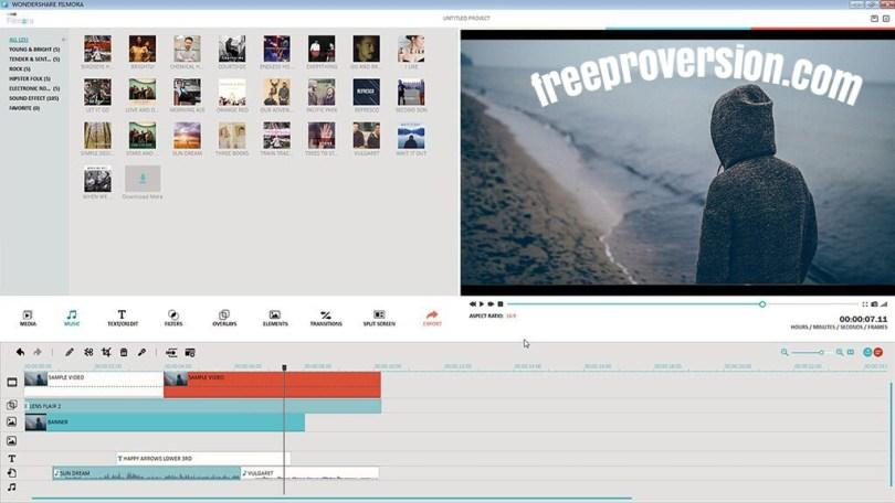 Wondershare Filmora 10.4.1.3 Crack With Keygen [100% Working]