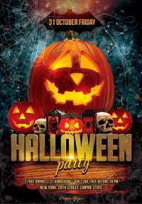 images of halloween party flyers