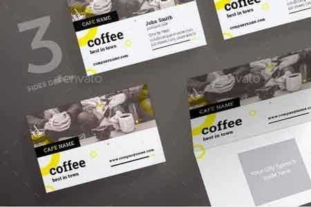 1812379 Coffee Shop Business Card 20878101     FreePSDvn