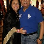 Rajesh Puri and his wife