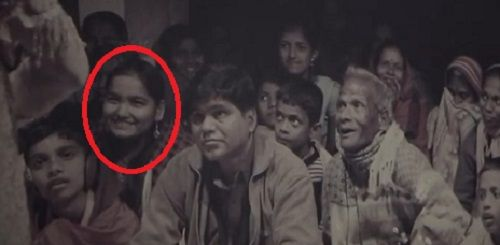 Seema Pahwa as a Child Actor