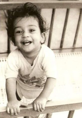 Ronnit Biswas's Childhood Picture