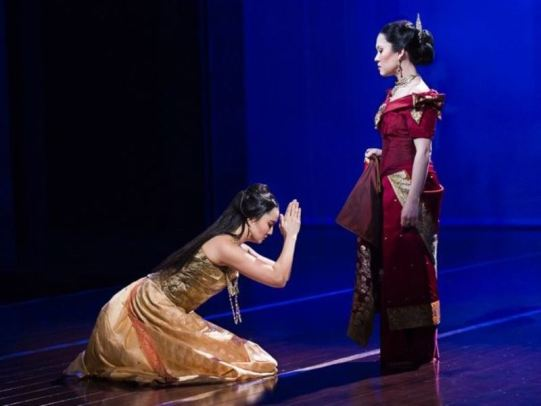 Ashley Park in the theatre play- King And I (2015)