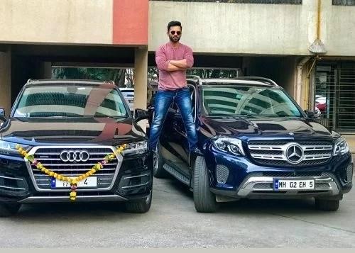 Rahul Vaidya's Cars
