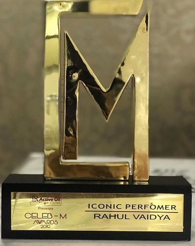 Rahul Vaidya's Award