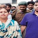 Misa Bharti with her husband Shailesh Kumar