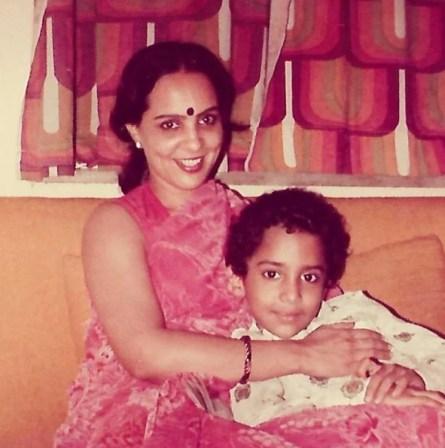 Ram Sampath in childhood