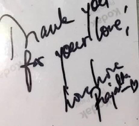 Prajakta Koli's Autograph