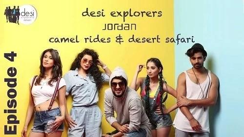 Sukirti Kandpal in Desi Explorers Jordan