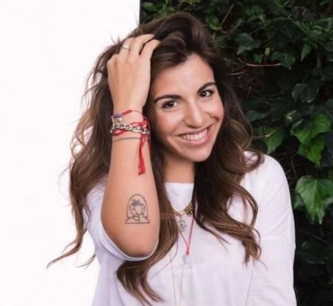 Diego Sinagra's half-sister Gianinna Dinorah