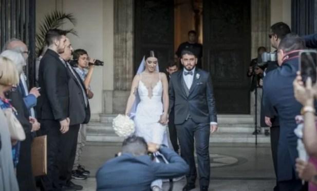 Diego Sinagra's wedding photo