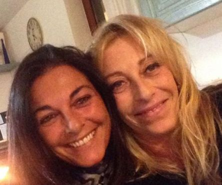 Cristiana Sinagra with her Sister