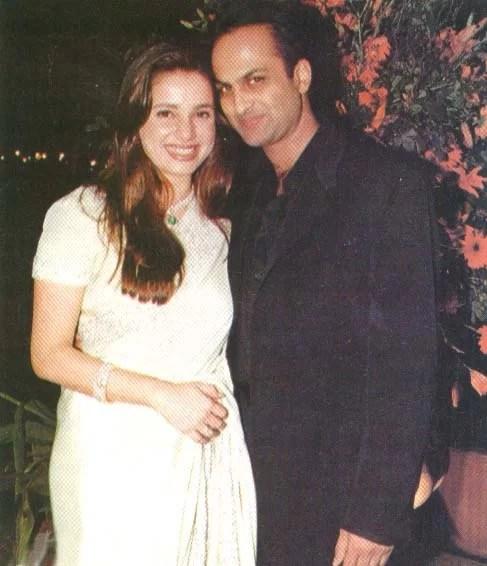 Neelam Kothari with Rishi Sethia