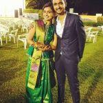 Mayuri Deshmukh with her Brother