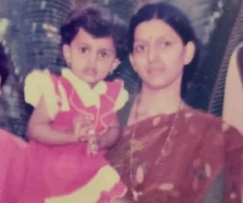Mayuri Deshmukh's Childhood Picture