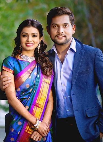 Mayuri Deshmukh with her Husband