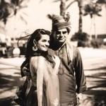 Atul Khatri with his daughter Diya