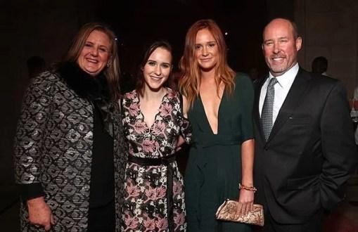Rachel Brosnahan with her Family