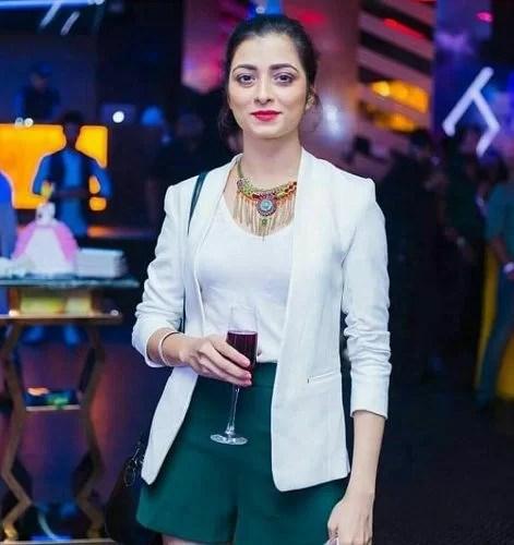 Afreen Alvi in a Party
