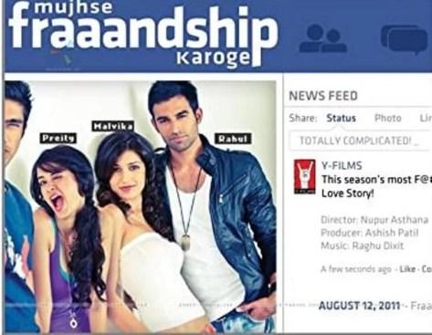 Nishant's debut film Mujhse Fraandship Karoge