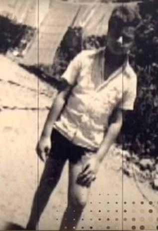 A rare childhood picture of Rakesh Jhunjhunwala
