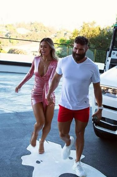 Dan Bilzerian with Desiree Schlotz