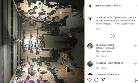 Dan Bilzerian Talking about his Collection of Guns