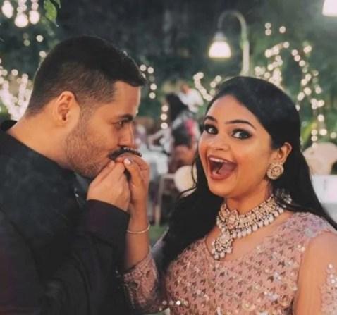 Vidyullekha and Sanjay's Roka