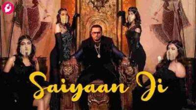 Saiyaan Ji Song Lyrics in English