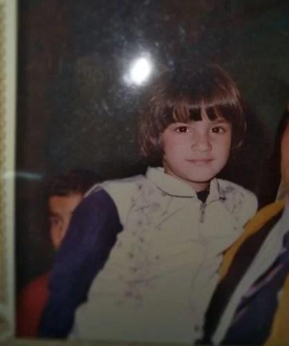 Niharika Kundu's childhood picture