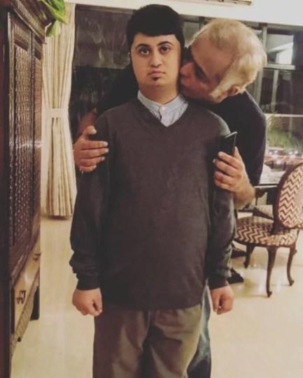 Hansal Mehta with his son Pallava