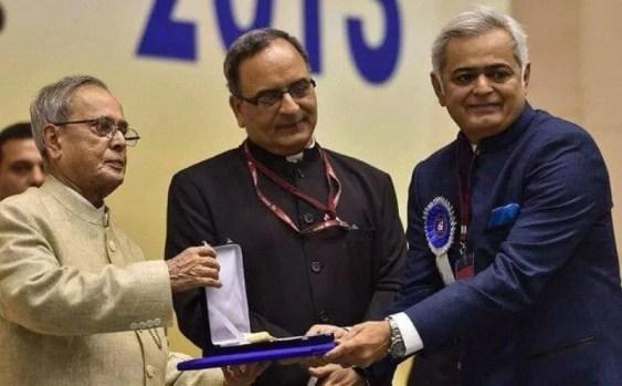 Hansal Mehta winning the National award for best director
