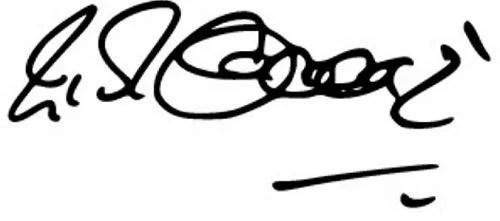 Raj Babbar's signature