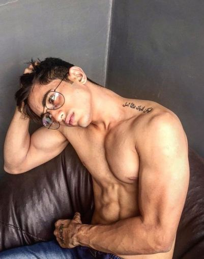 Salman Zaidi's tattoos