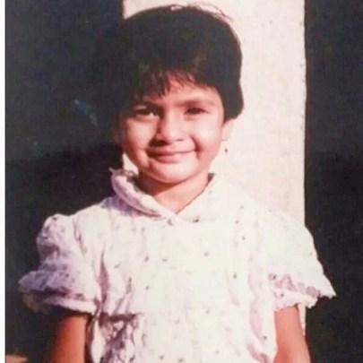 Sukhada Khandkekar's childhood picture