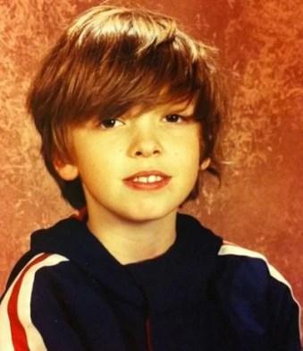 Jack Denmo as a child