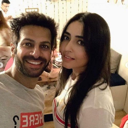 Nidhi Seth and Karan Veer Mehra