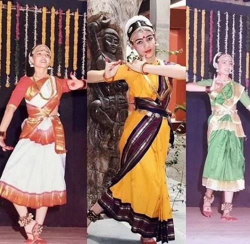 Nidhi Seth performing Bharatanatyam