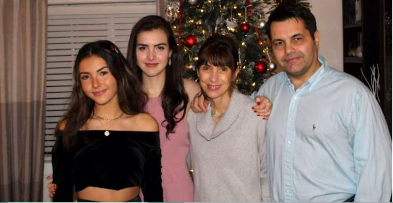 Alexandra Botez with her family