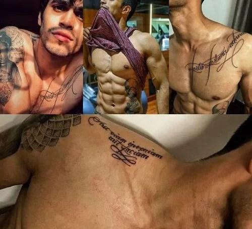 Trevon Dias's tattoos