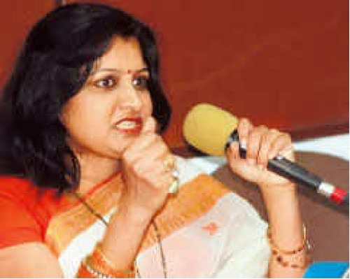 Hemant Nagrale's wife, Pratima Nagrale