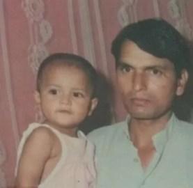 Bhoomika Vasishth in childhood
