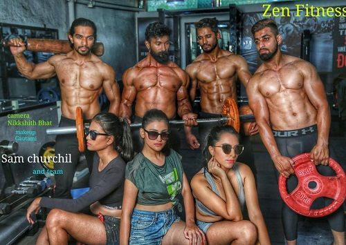 Agriya Bhatia featured on Zen Fitness Calendar