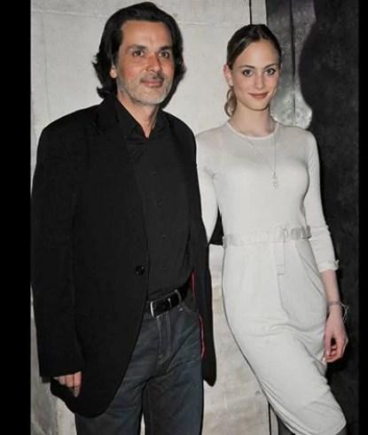 Nora Arnezeder with Christophe Barratier