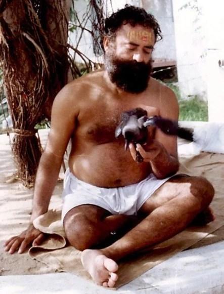 Asaram in his ashram