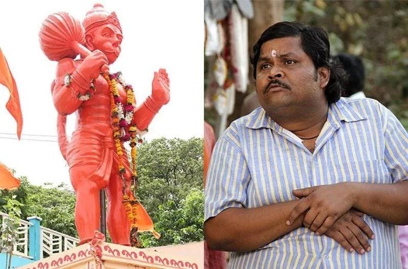 Jeetu Shivhare is an immence follower of the hindu god Hanuman