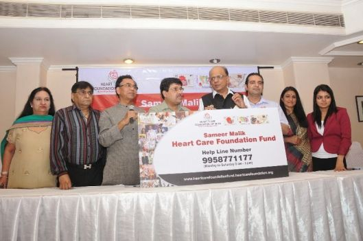 Dr. K. K. Aggarwal at an event of Heart Care Foundation of India