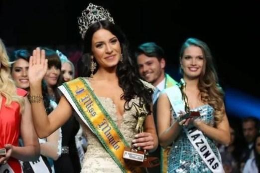 Julia Gama as Miss Brazil Mundo 2014