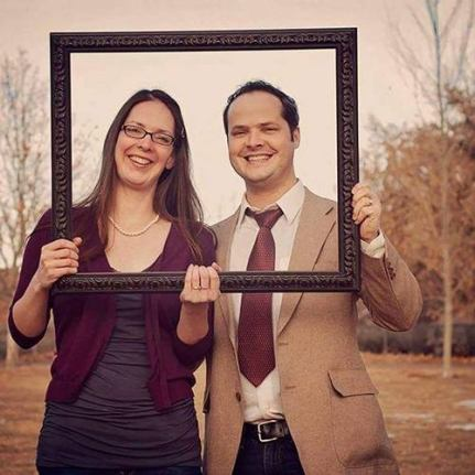 Steve Corona with his wife